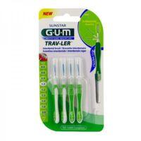 Gum Trav - Ler, 1,1 Mm, Manche Vert , Blister 4