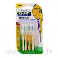 Gum Trav - Ler, 1,3 Mm, Manche Jaune , Blister 4 à SAINT-MARCEL
