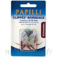 Papilli - Clippee, Bordeaux, Sachet 10 à SAINT-MARCEL