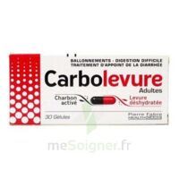 Carbolevure Gélules Adulte Plq/30 à SAINT-MARCEL