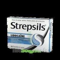 Strepsils Lidocaïne Pastilles Plq/24 à SAINT-MARCEL