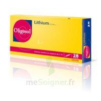 Oligosol Lithium Solution Buvable En Ampoule Ou En Récipient Unidose 28amp/2ml à SAINT-MARCEL