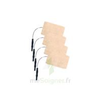 Stimex Electrode Rectangulaire électrostimulation 50x90mm B/4 à SAINT-MARCEL