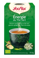 Yogi Tea Thé Energie Du Thé Vert Bio 17 Sachets/1,8g