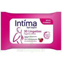 Intima Gyn'expert Lingettes Cranberry Paquet/30 à SAINT-MARCEL