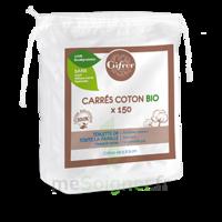Gifrer Carré Coton Bio Sachet/150 à SAINT-MARCEL