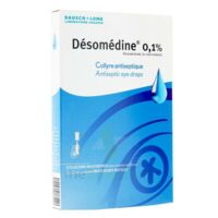 Desomedine 0,1 % Collyre Sol 10fl/0,6ml à SAINT-MARCEL