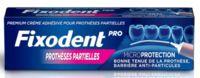 Fixodent Pro Crème Adhésive Pour Prothèse Partielle T/40g à SAINT-MARCEL