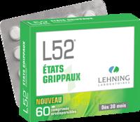 Lehning L52 Comprimés Orodispersibles Plq Pvc/pvdc/alu/60 à SAINT-MARCEL