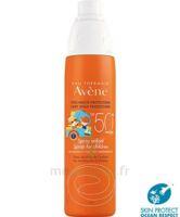 Avène Eau Thermale Solaire Spray Enfant 50+ 200ml à SAINT-MARCEL