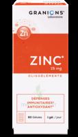 Granions Zinc 15mg Gélules B/60