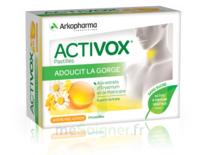 Activox Sans Sucre Pastilles Miel Citron B/24 à SAINT-MARCEL