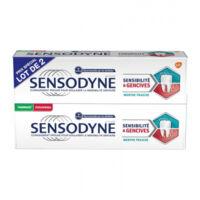 Sensodyne Sensibilité Et Gencives Menthe Fraîche 2t/75ml à SAINT-MARCEL