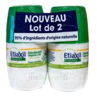 Etiaxil Végétal Déodorant 24h 2roll-on/50ml à SAINT-MARCEL