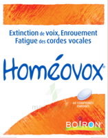 Boiron Homéovox Comprimés à SAINT-MARCEL