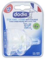 Dodie Initiation+ Tétine 3vitesses Débit4 Silicone Liquide épais B/2 à SAINT-MARCEL