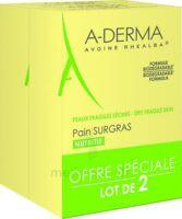 Aderma Les Indispensables Pain Surgras Duo 2x100g à SAINT-MARCEL