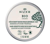 Nuxe Bio Déodorant Baume Fraîcheur 24h Peaux Sensibles Pot/50g à SAINT-MARCEL