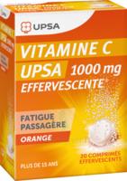 Vitamine C Upsa Effervescente 1000 Mg, Comprimé Effervescent à SAINT-MARCEL