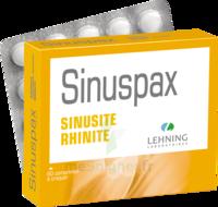Lehning Sinuspax Comprimés à Croquer 3plq/20 à SAINT-MARCEL