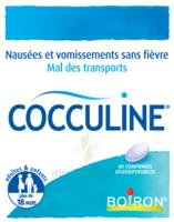 Boiron Cocculine Comprimés Orodispersibles B/40 à SAINT-MARCEL